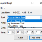Keep track of your tasks
